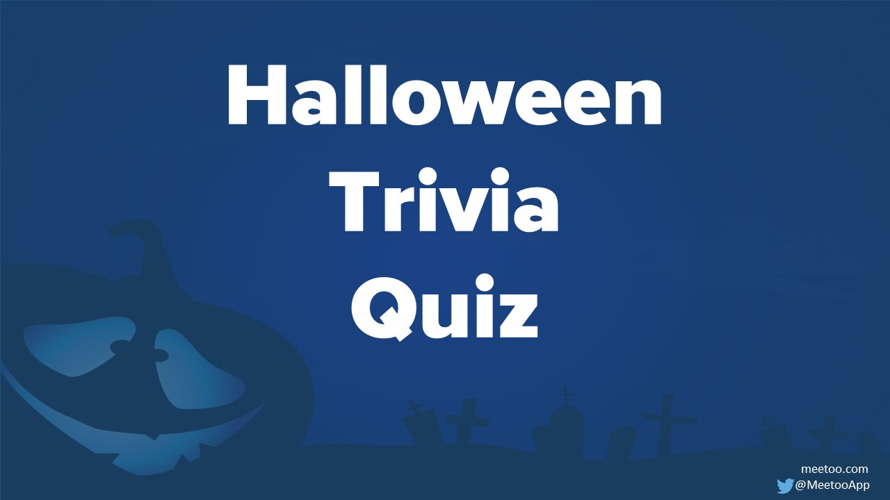 Ready to use Halloween Quiz!