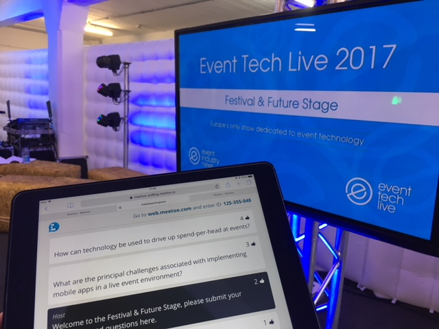 3 things the Meetoo Team learnt at Event Tech Live 2017...