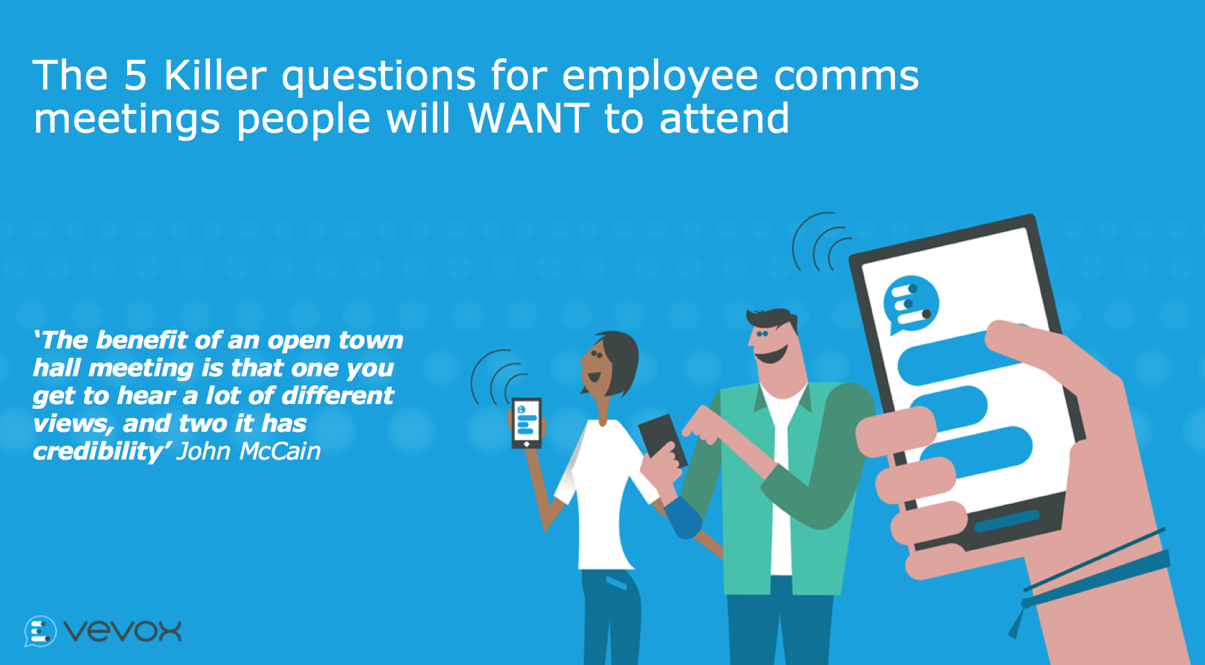 The 5 killer questions for employee comms meetings people will want to attend