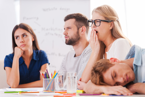 5 simple ways to ruin your employee comms meeting…
