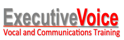 Executive Voice Logo - Comms Training