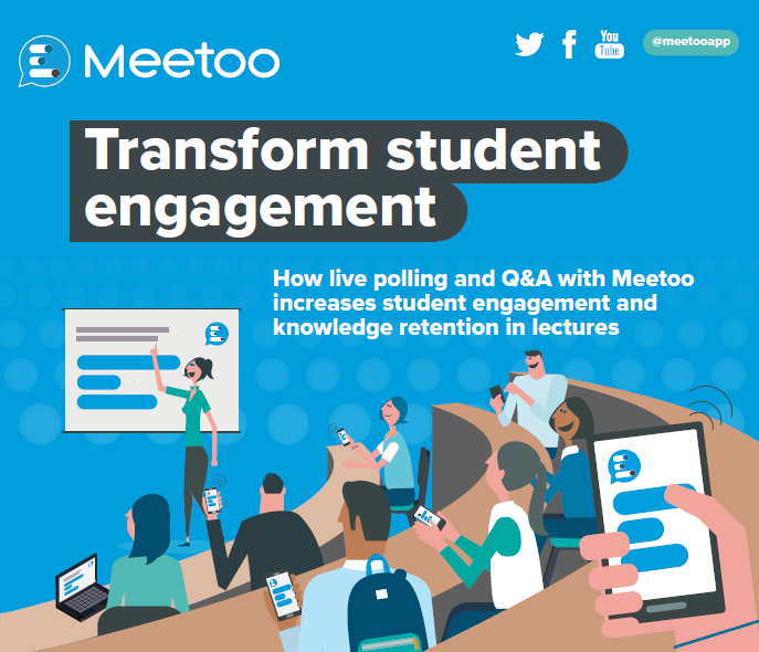 How live polling and Q&A with Meetoo increases student engagement