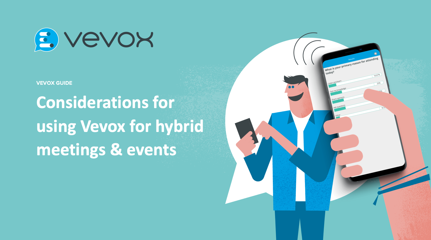 Considerations for using Vevox for hybrid meetings & events