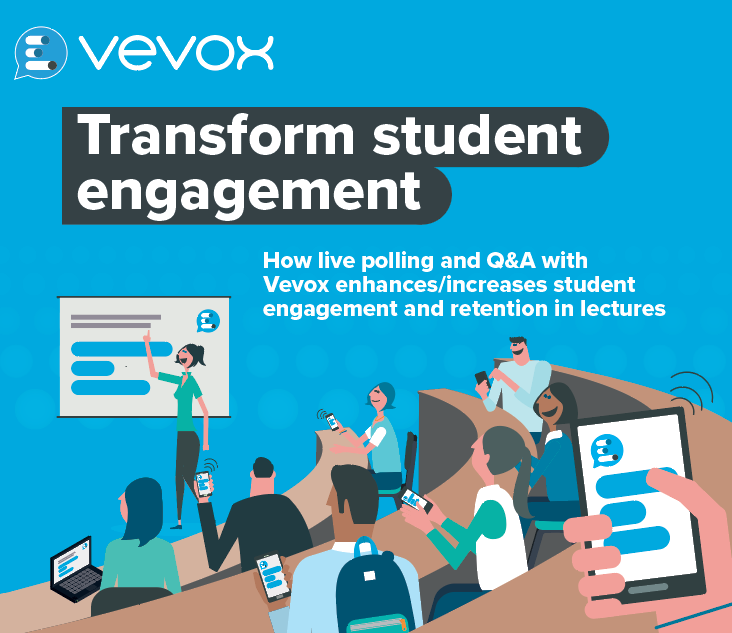 How live polling and Q&A with Vevox increases student engagement