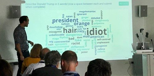 Word cloud poll image