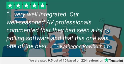 Polling software- Trustpilot review