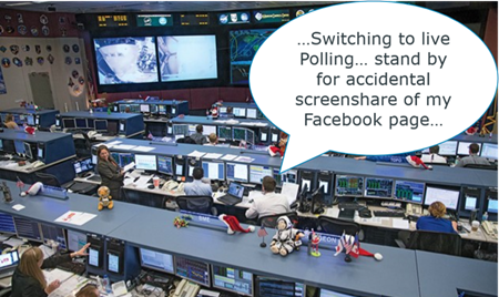live polling - switching screens image