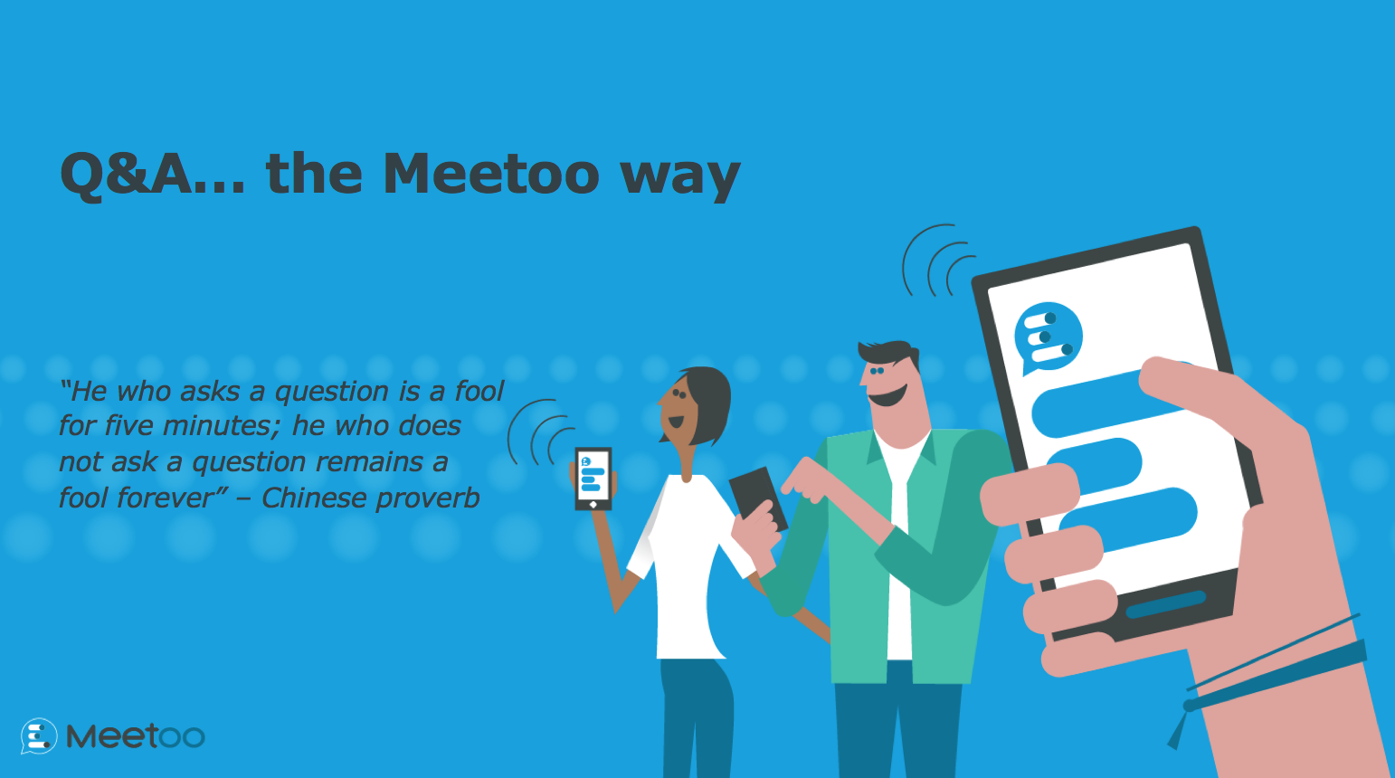 Running Q&A the Meetoo Way