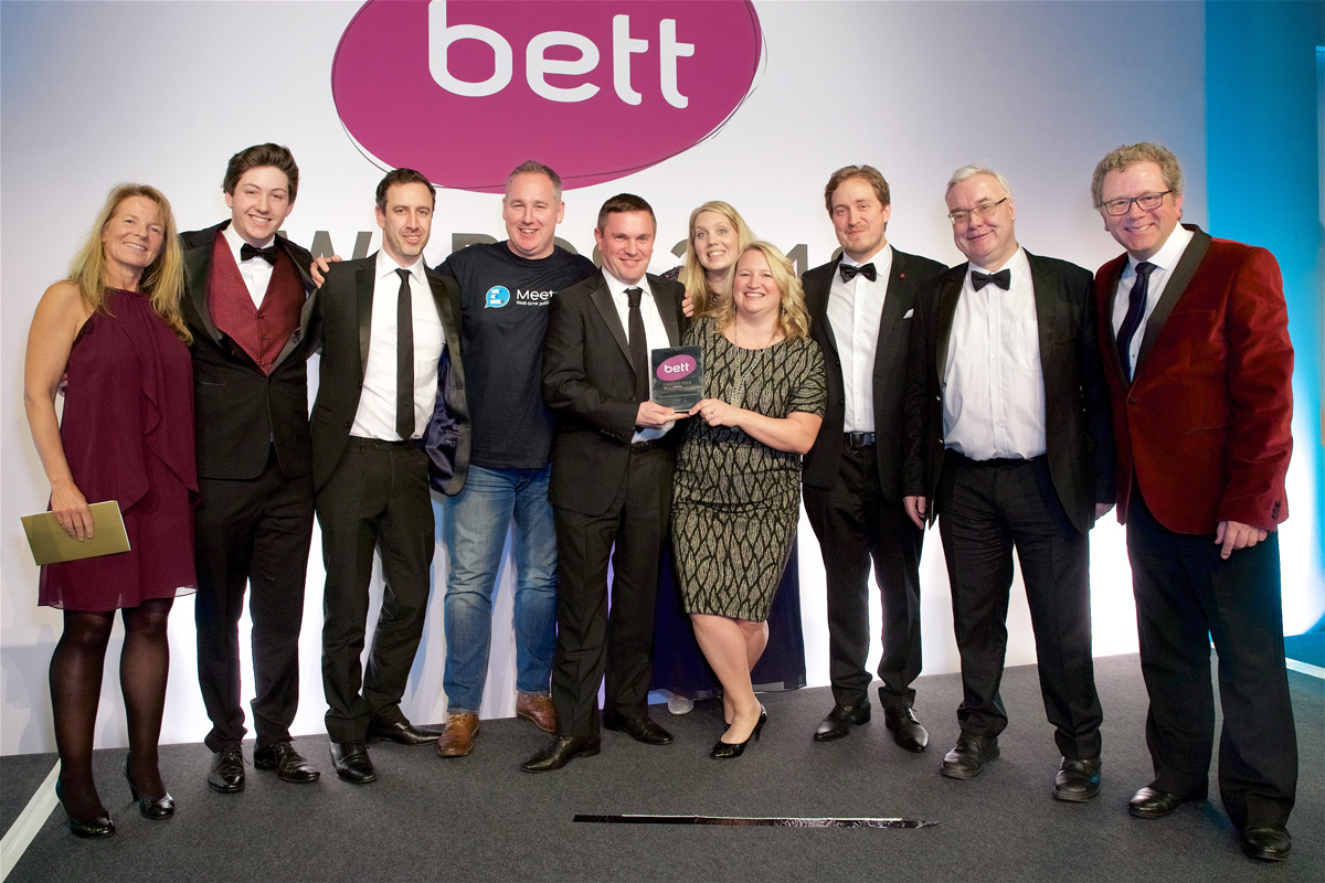 We weren't asked to make a speech at the Bett awards...