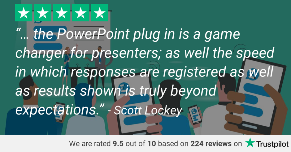 Why Vevox's PowerPoint Polling integration is voted number 1