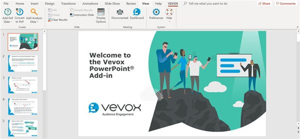PowerPoint Add-in - Vevox