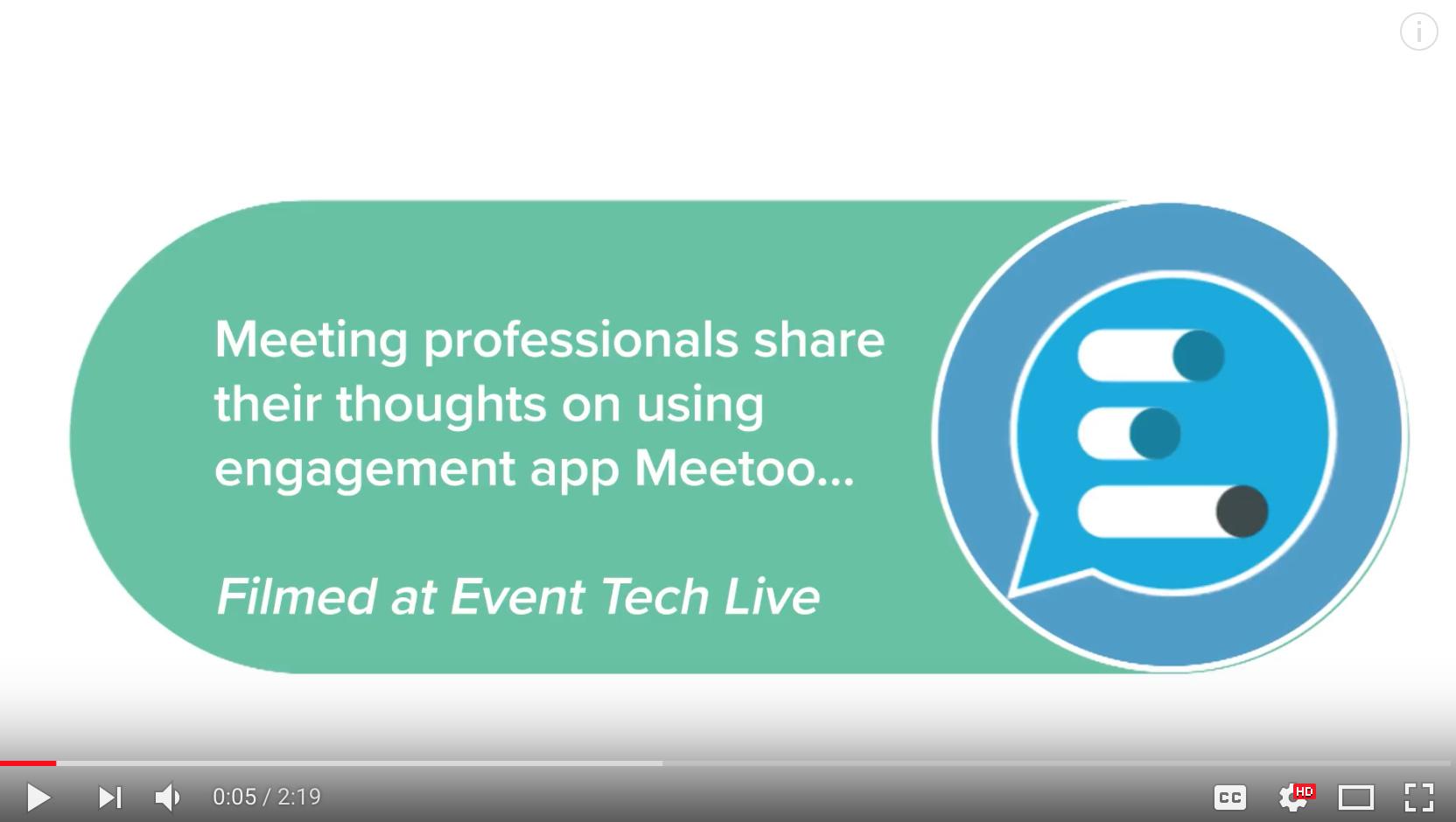 Meeting professionals share their thoughts on using Meetoo…