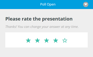 star rating poll