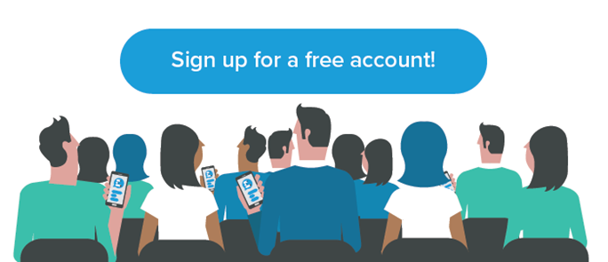 Sign up for a free Vevox account