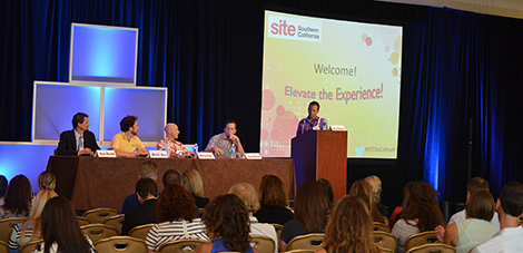 SITE SoCal Improves Audience Interaction  at Luncheon